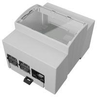 Din Rail Box for Raspberry Pi 4 - 90.5x71.3x62mm