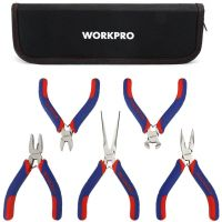 Tool Set 5pcs Mini Precision Pliers - Workpro