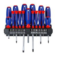 Screwdrivers Set 37pcs with Rack - Workpro