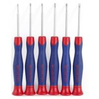 Screwdrivers Precision Set of 6 - Workpro