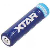 Battery Rechargeable 18650 3.7V - 2600mAh XTAR