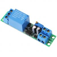 Relay Module - 1 Channel 12V with Adjustable Delay Time