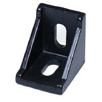 Cast - 90 Degree Corner Bracket for 3030 T-Slot 28x35mm - Black