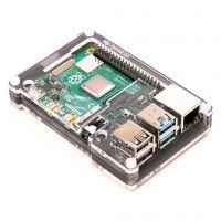 Pibow Case for Raspberry Pi 4 - Ninja