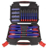 Screwdrivers Set 56pcs with Case - Workpro