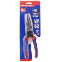 High Leverage Long Nose Pliers 200mm - Workpro