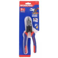 High Leverage Diagonal Pliers 180mm - Workpro