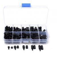 Standoff, Bolts & Nuts Assortment Kit M3 Black - 300pcs