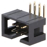 IDC Connector 2x3 Pin Male Angle