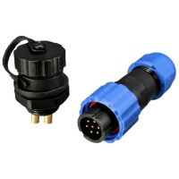 Waterproof Connector IP68 13mm 7-Pin - Set