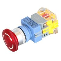 Emergency Stop Button 22mm - Red 24V
