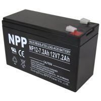 Lead-Acid Battery 12V 7.2Ah - F2 Terminal (6.35mm)