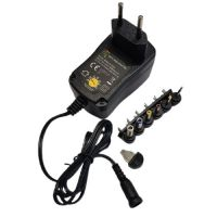 Power Supply 3V/4.5V/5/6/7.5V/9V/12VDC 1A - MWCL3K10GS