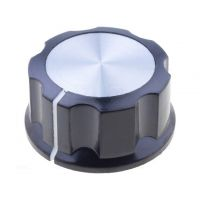 Potentiometer Knob 29.6x16mm - Silver