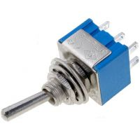 Toggle Switch DPDT On-On (3A/250V)