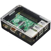 Adafruit Raspberry Pi B+ / Pi 2 Case - Smoke Base w/ Clear Top