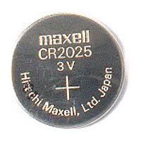Battery Coin Cell CR2025 Maxell - 20mm