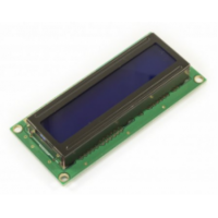 Basic 16x2 Character LCD - White on Blue 5V (EU Characters)