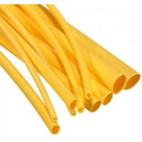 Heatshrink 1.6/0.8mm Yellow - 1m