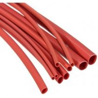 Heatshrink 1.6/0.8mm Red - 1m