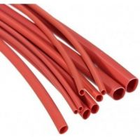 Heatshrink 1.6/0.8mm Red - 1m