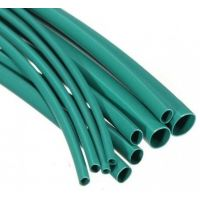 Heatshrink 2.4/1.2mm Green - 1m