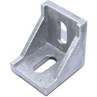 Cast - 90 Degree Corner Bracket for 4040 T-Slot - Natural