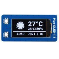 "Pico Display OLED 1.3"" 128x64 (Black-White)"