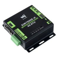 Industrial Converter RS232/485/TTL to 4G LTE, GNSS - SIM7600E-H