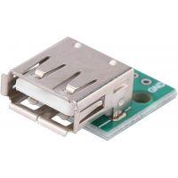 USB 2.0 Type A Female Breakout Board