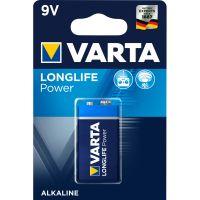 Battery 9V Varta Longlife Power - 550mAh