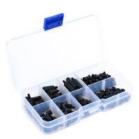 Standoff, Bolts & Nuts Assortment Kit M3 Black - 180pcs