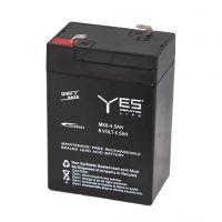 Lead-Acid Battery 6V 4.5Ah - F2 Terminal (6.35mm)