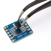 SMT Breakout PCB for SOIC-12 or TSSOP-12 - 6 Pack