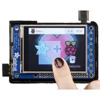 "PiTFT Plus 320x240 2.8"" TFT + Resistive Touchscreen - Pi 2 and Model A+ / B+"