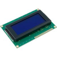 Basic 16x4 Character LCD - White on Blue 5V (EU Characters)