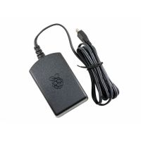 Power Supply 5V 2.5A - Raspberry Pi Official (Black)