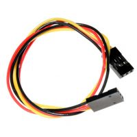 Jumper Wires 3-Pin 30cm Female to Female - Pack of 10