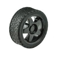 Rubber Wheel 66x26mm - Black