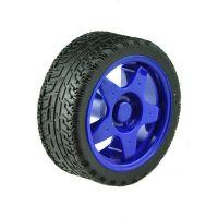 Rubber Wheel 66x26mm - Blue