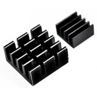 Raspberry Pi Heatsink - Black (Set of 2)