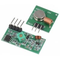 RF Link Transmitter and Receiver - 433MHz