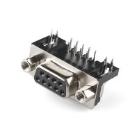 D-SUB Connector Female 9-pin 90 Degree