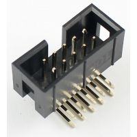 IDC Connector 2x5 Pin Male Angle