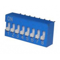 DIP Switch - 8 Position