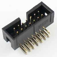 IDC Connector 2x7 Pin Male Angle