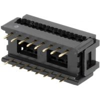 IDC Connector 2x8 Pin PCB - Breadboad Friendly