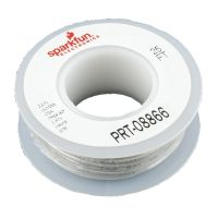 Hook-up Stranded Wire 22AWG / 0.32mm2 - White 7.5m