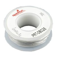 Hook-up Wire 22AWG / 0.32mm2 - White 7.5m