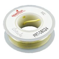 Hook-up Wire 22AWG / 0.32mm2 - Yellow 7.5m